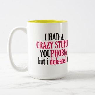 Crazy YouPhobia Classic Mug