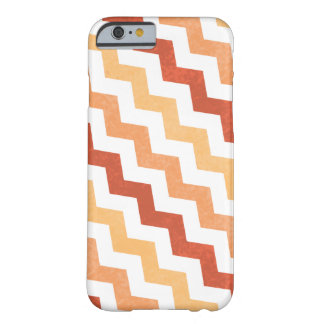 Crazy Zig Zag Chevron Grunge Design Barely There iPhone 6 Case