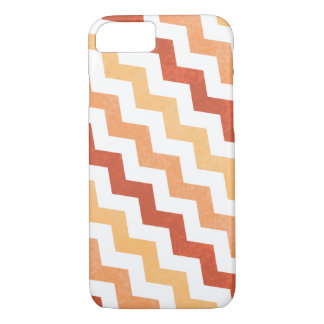 Crazy Zig Zag Chevron Grunge Design iPhone 7 Case