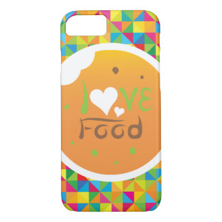 Crazydeal E5 Super colorful love food iPhone 7 Case