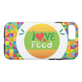 Crazydeal E7 Super colorful love food iPhone 7 Case