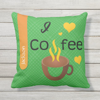 Crazydeal p469 cool crazy creative funny coffee throw pillow