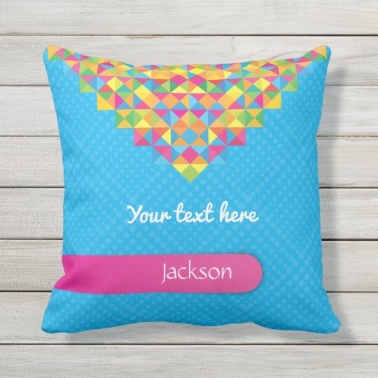 Crazydeal p490 cool crazy creative super colourful outdoor pillow