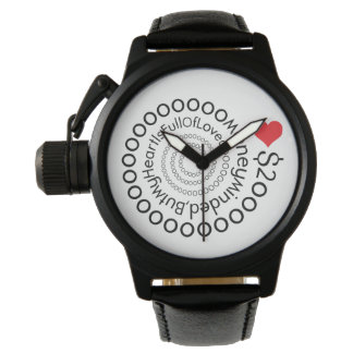 Crazydeal p531 Money minded love watch