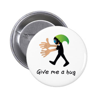 Crazydeal p551 give me a hug standard round button