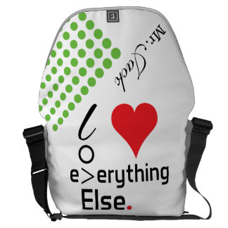 Crazydeal p626 Super cool crazy funny awesome love Commuter Bags