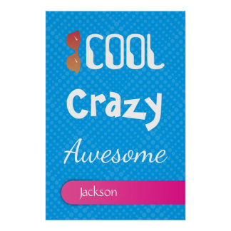 Crazydeal p766 cool crazy creative amazing awesome poster