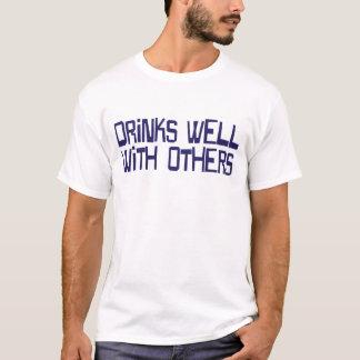 CRAZYFISH drinks well T-Shirt