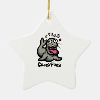 CrazyFoca Ceramic Star Ornament