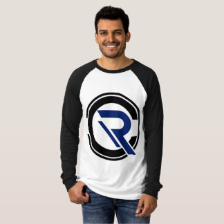 CRC Men's Long Sleeve Black Raglan T-Shirt