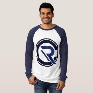 CRC Men's Long Sleeve Blue Raglan T-Shirt