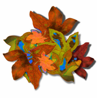 Cre8tive Fall Leaves Acrylic Cut Outs
