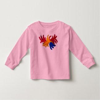 Creaeive Floral Design Toddler T-shirt