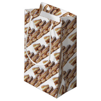 cream and chocolate donuts small gift bag