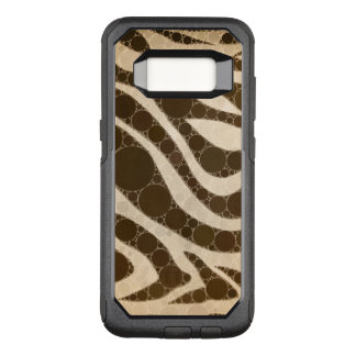 Cream and Sugar Zebra OtterBox Commuter Samsung Galaxy S8 Case