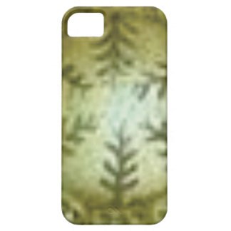 cream ball with ferns case for the iPhone 5