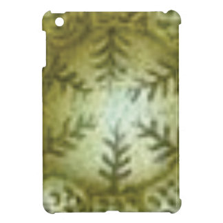 cream ball with ferns cover for the iPad mini