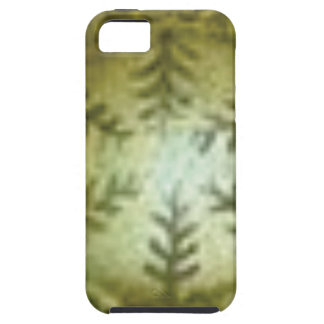 cream ball with ferns iPhone 5 cases