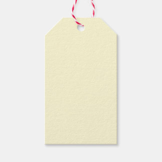 Cream Beige Pack Of Gift Tags