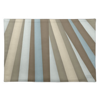 Cream Brown Light Blue Mat