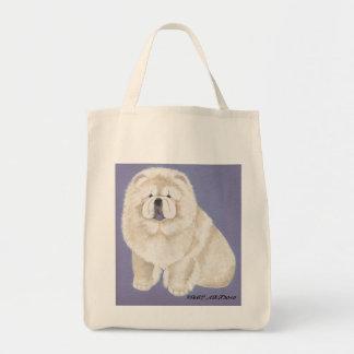 Cream Chows Bag