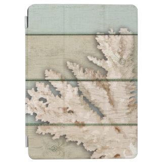 Cream Colored Coral iPad Air Cover