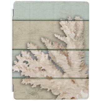Cream Colored Coral iPad Cover