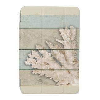 Cream Colored Coral iPad Mini Cover