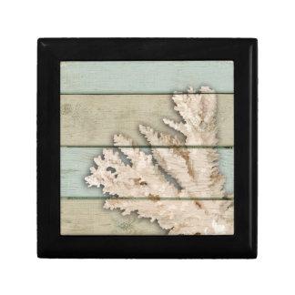 Cream Colored Coral Jewelry Boxes