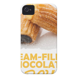 Cream-Filled Chocolates Day  - Appreciation Day iPhone 4 Cover