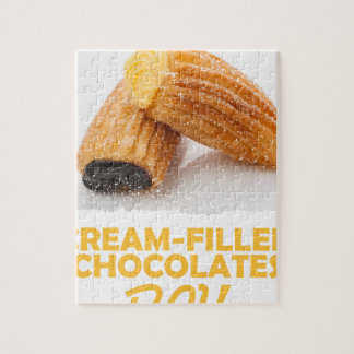 Cream-Filled Chocolates Day  - Appreciation Day Puzzles