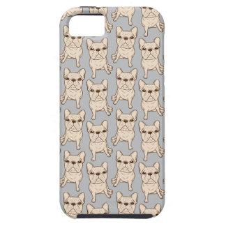 Cream French Bulldog iPhone 5 Covers