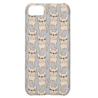 Cream French Bulldog iPhone 5C Cases