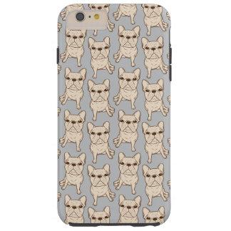 Cream French Bulldog Tough iPhone 6 Plus Case