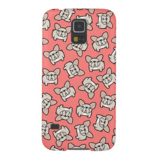 Cream Frenchie Case For Galaxy S5