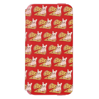 Cream Frenchie invites you to her pizza party Incipio Watson™ iPhone 6 Wallet Case