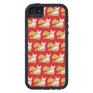 Cream Frenchie invites you to her pizza party iPhone 5 Case
