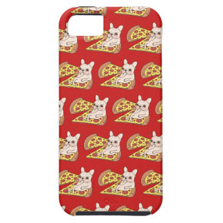 Cream Frenchie invites you to her pizza party iPhone 5 Cover