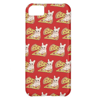Cream Frenchie invites you to her pizza party iPhone 5C Cases