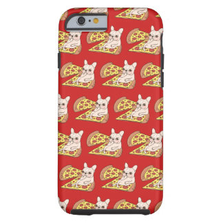 Cream Frenchie invites you to her pizza party Tough iPhone 6 Case