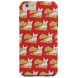 Cream Frenchie invites you to her pizza party Tough iPhone 6 Plus Case