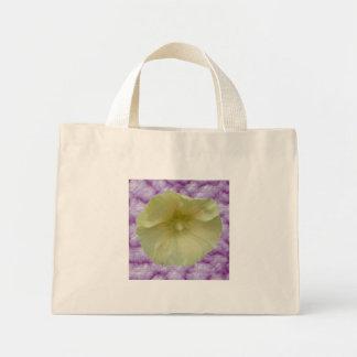 Cream Hollyhock Tote Bag
