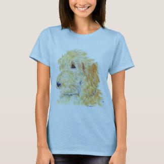 Cream Labradoodle #2 Ladies T-shirt