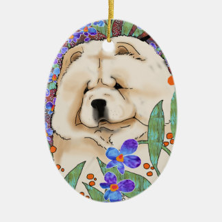 CREAM OF THE CROP pendant Ceramic Ornament