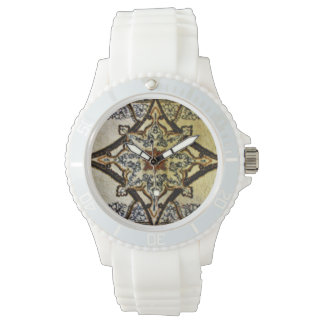 Cream Oriental Rug Watches
