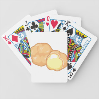Cream Puff Bicycle Playing Cards