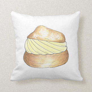 Cream Puff Puffs Creampuff Dessert Foodie Pillow