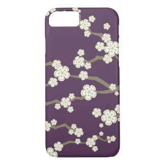 Cream Sakura Oriental Chic Cherry Blossoms Casing iPhone 8/7 Case