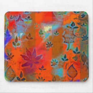 """Cream Soda Autumn""  (Red) Mouse Pad"