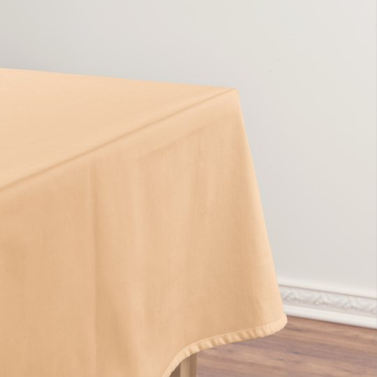Cream Tablecloth solid